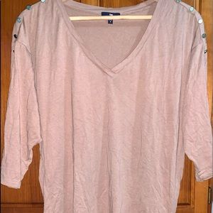 Gap women's tunic shirt blouse size medium